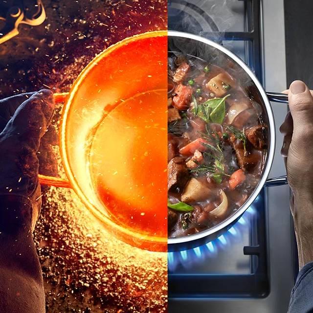 Eşsiz materyal Fusiontec ile en iyi pişirme serisi