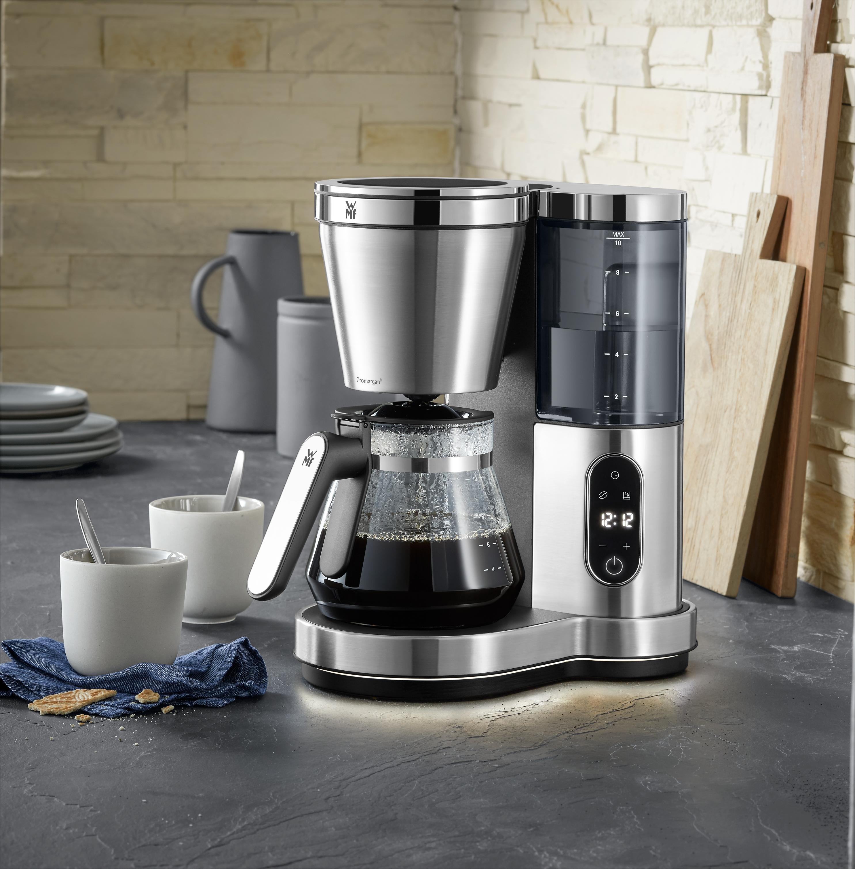 Muhteşem kahve keyfi için LED ışıklı şık filtre kahve makinesi