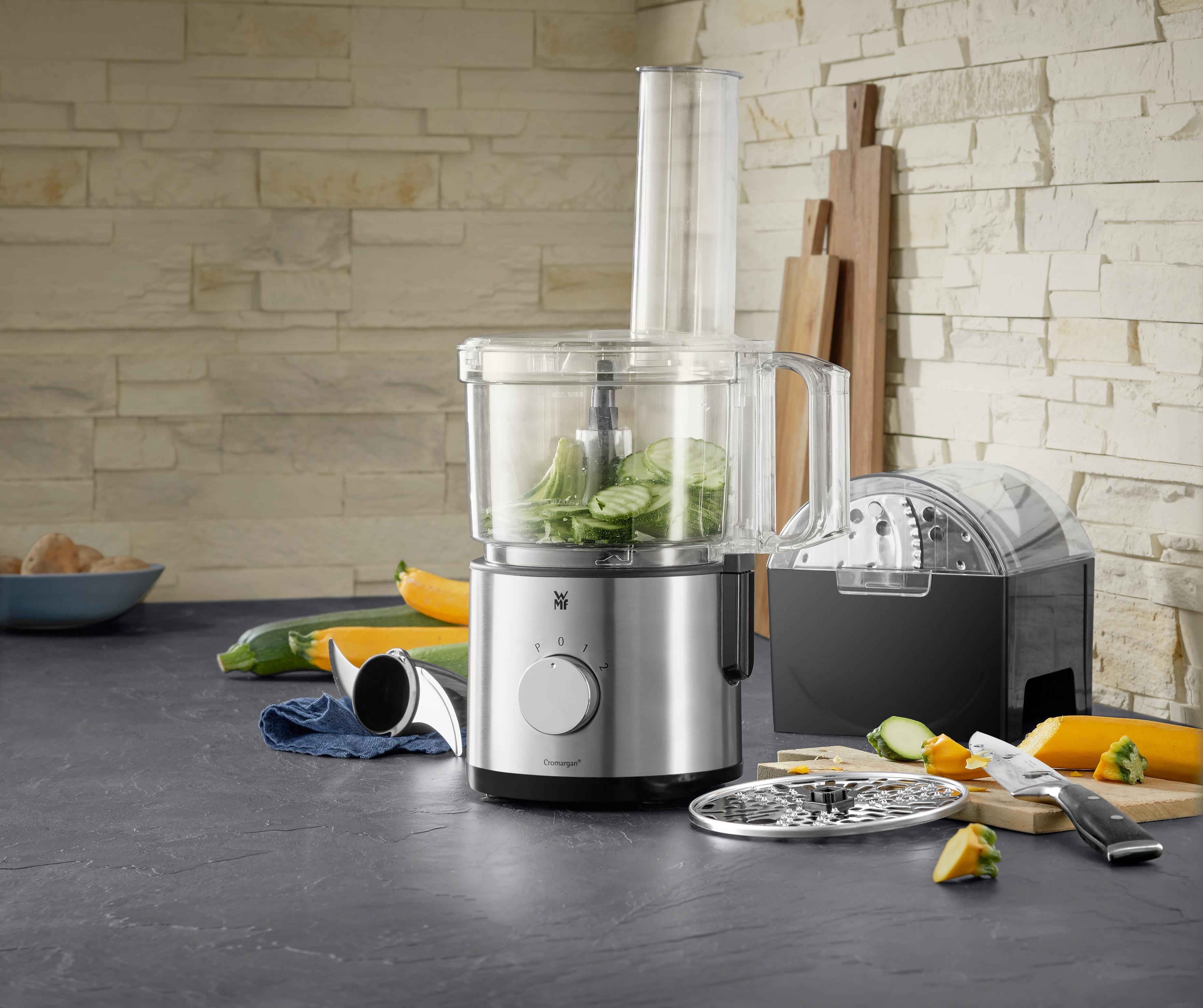 Kalite ve fonksiyonu bir arada sunan mutfak robotu.