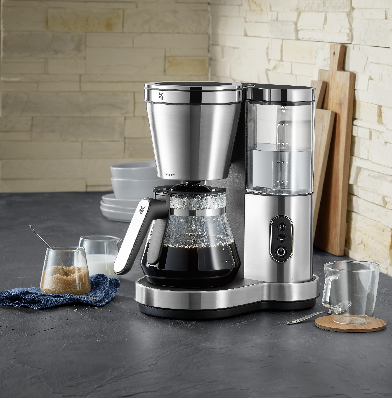 İdeal kahve keyfi için şık ve kullanımı kolay cam karaflı filtre kahve makinesi