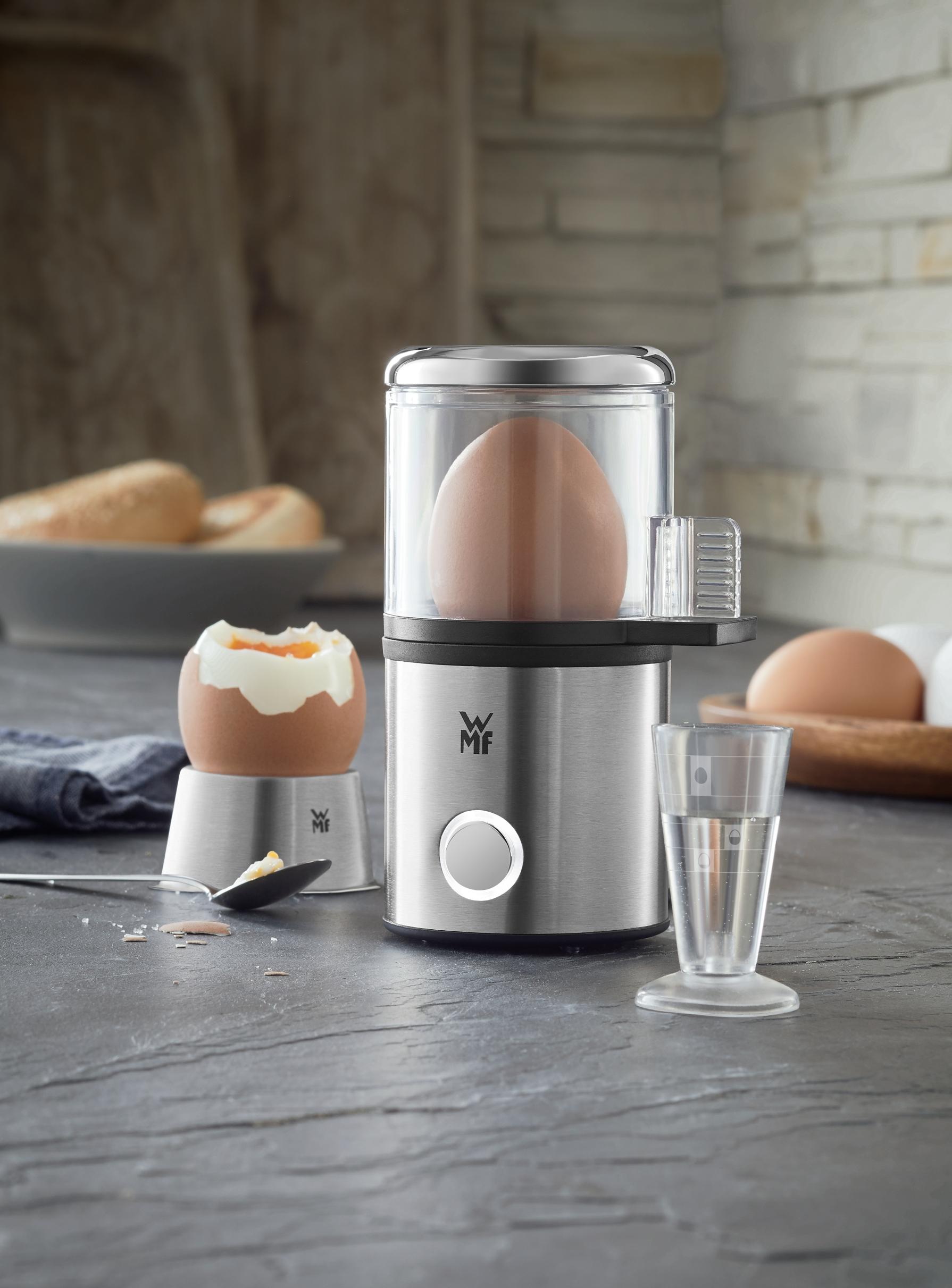 Mini yumurta pişirme makinesi mutfağınızda yer kazandırır.