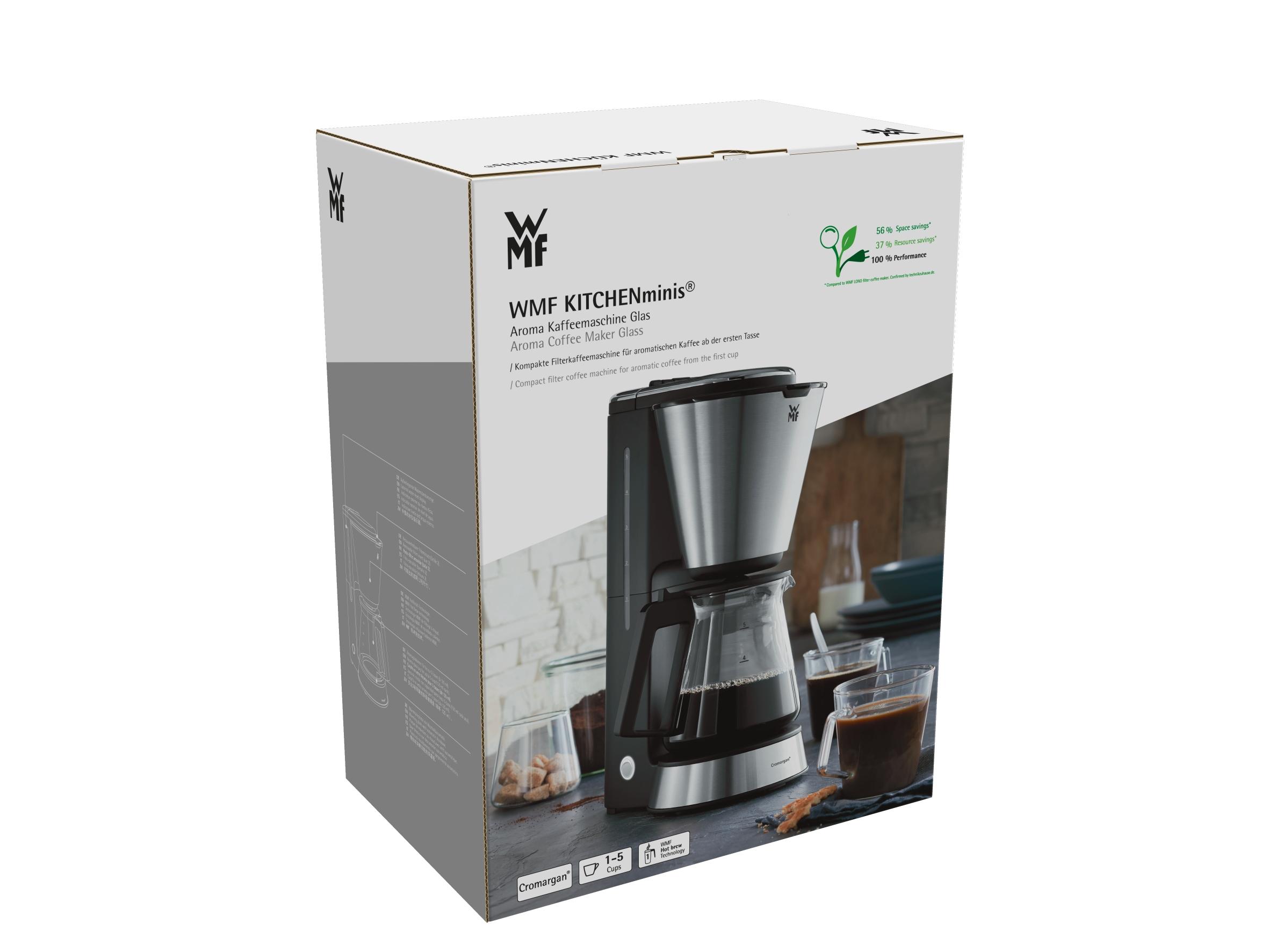 WMF KITCHENminisⓇ Filtre Kahve Makinesi - Cam Karaf