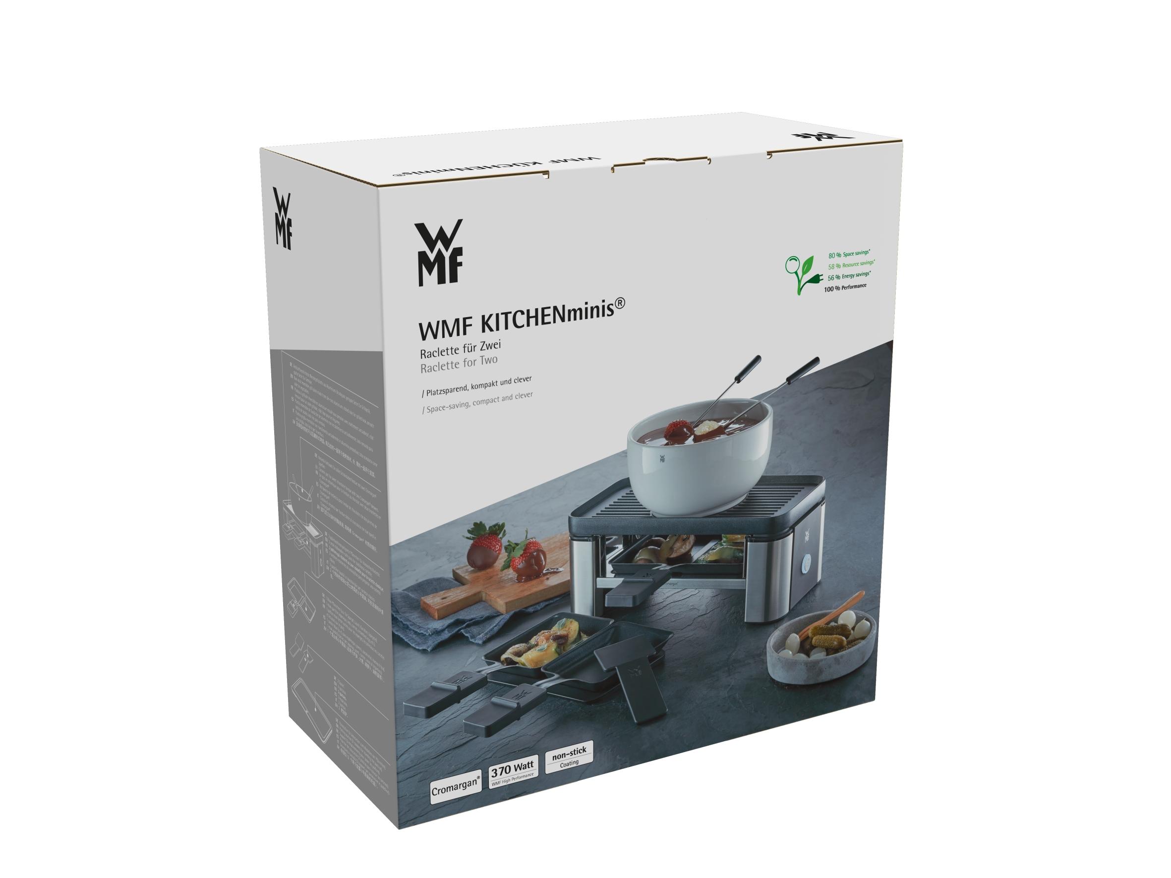 WMF KITCHENminisⓇ Raklet & Fondü Makinesi