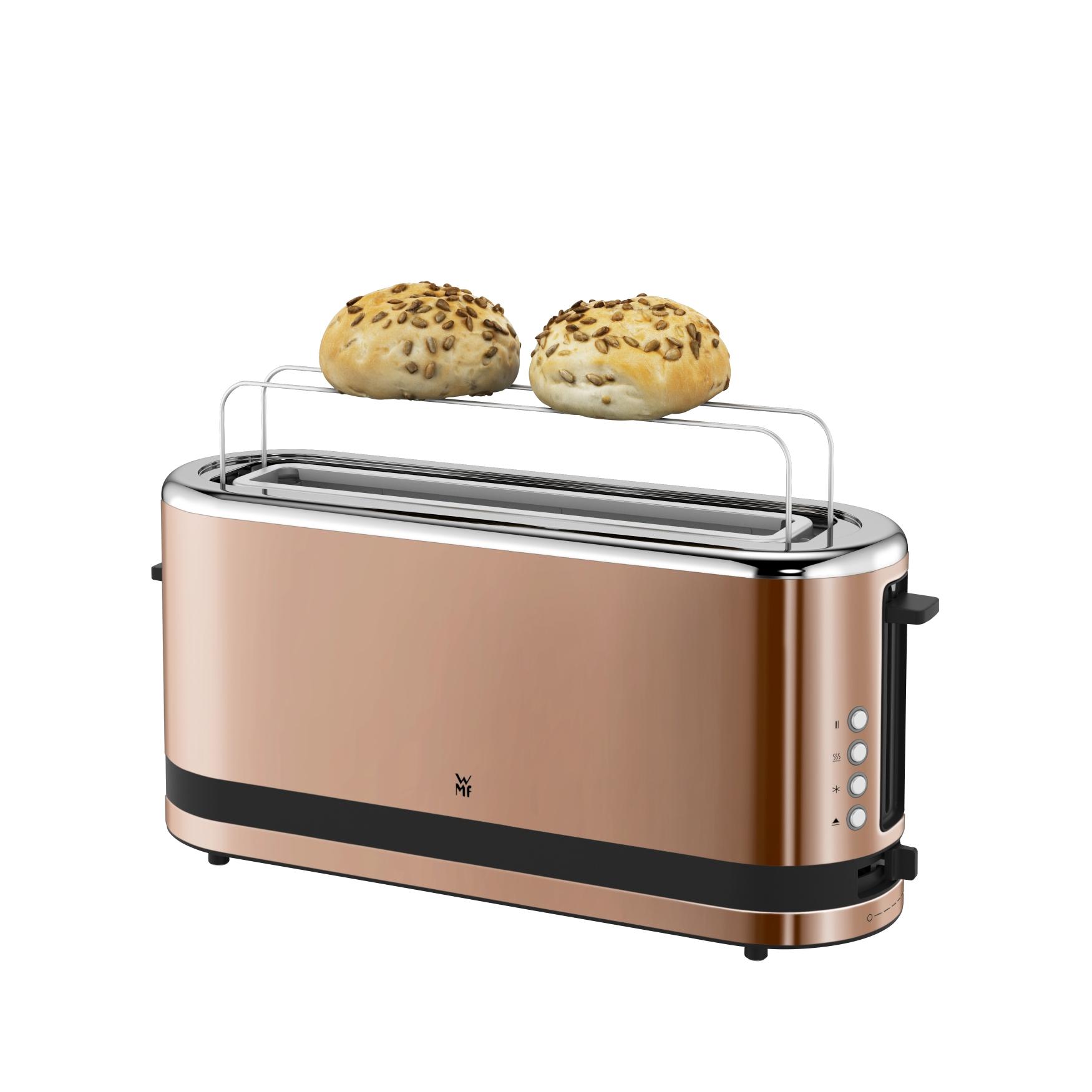 WMF KITCHENminisⓇ Uzun Hazne Ekmek Kızartma Makinesi - Bakır