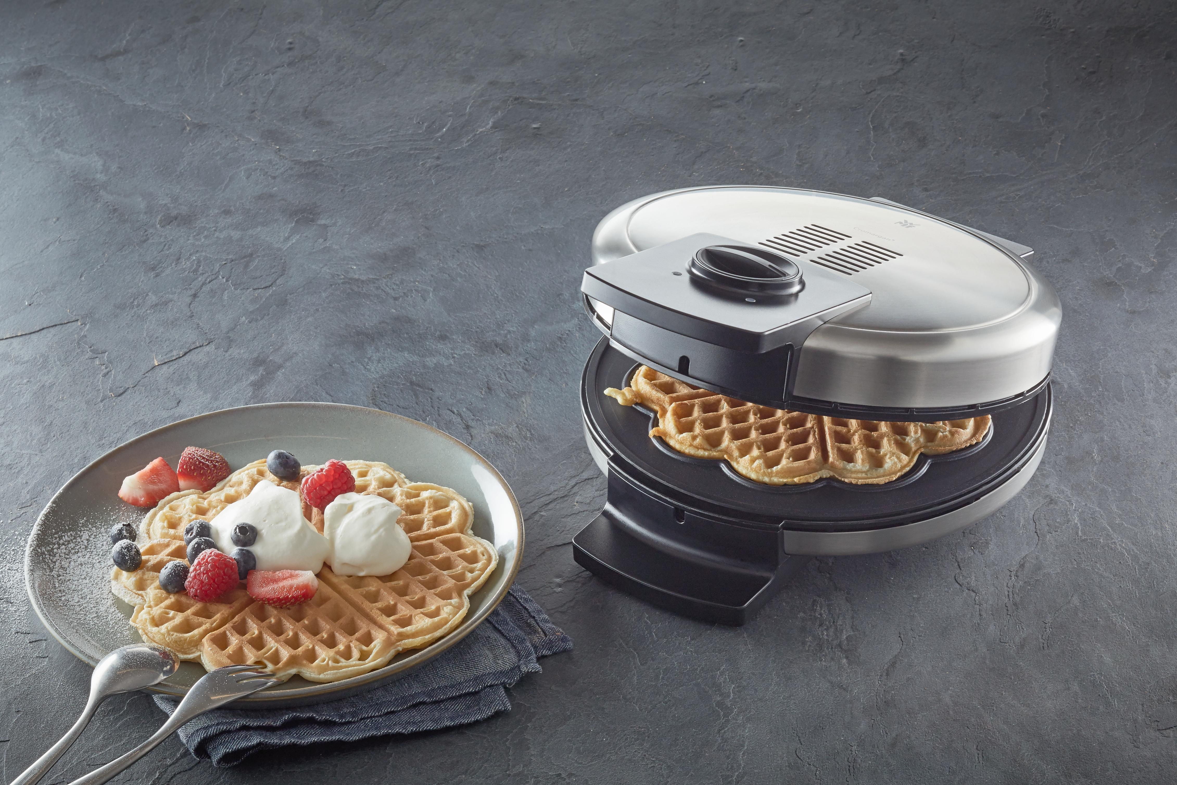 Kahvaltıdaki tüm waffle'lar tam da olması gerektiği gibi..