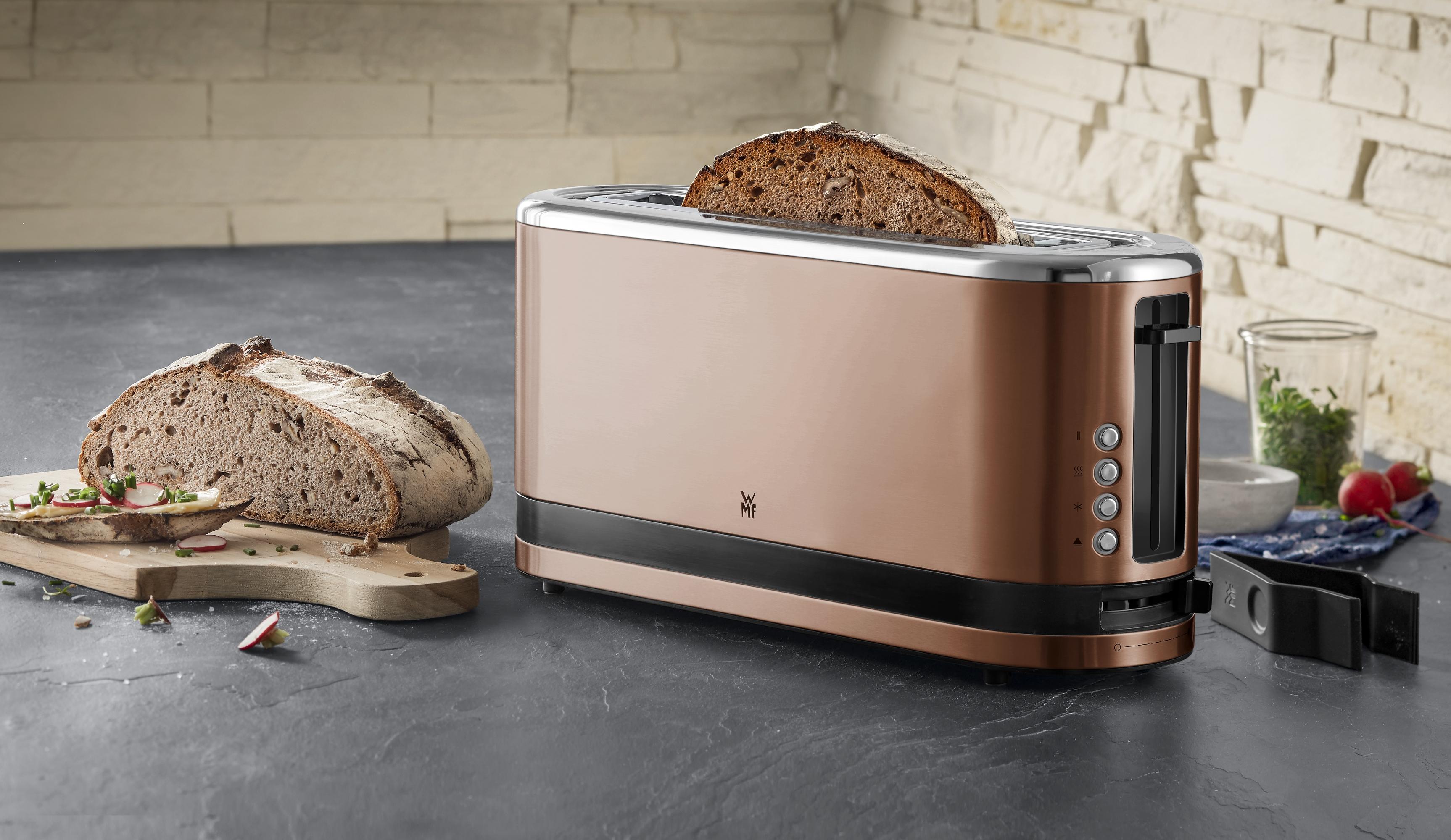 XXL ekmek, uzun ekmek dilimleri, bagel ve yuvarlak ekmekler için yer kazandıran mucize.