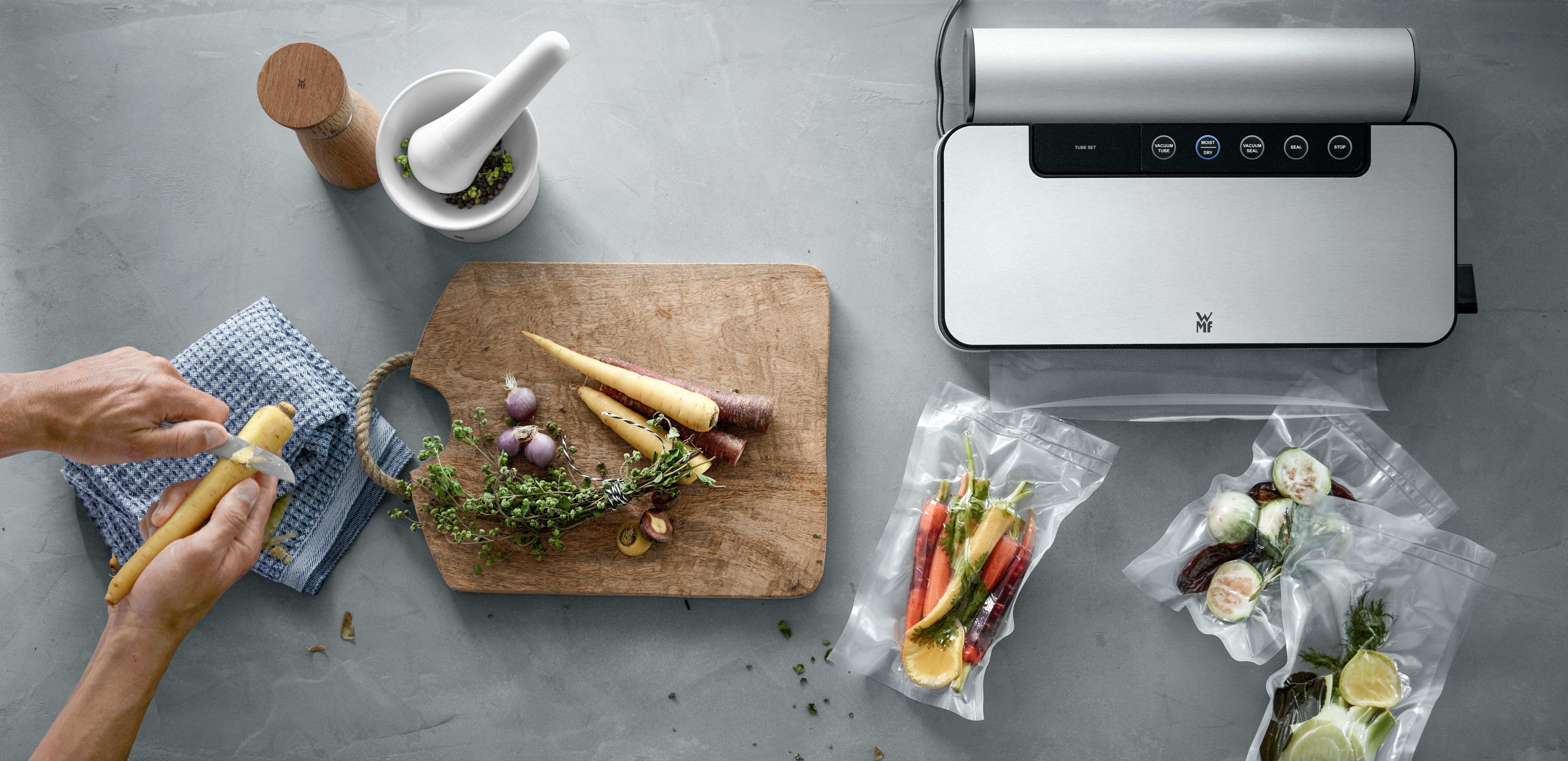 Mutfağınızdaki gıdaların vitamin ve minerallerini koruyarak ömrünü uzatın.