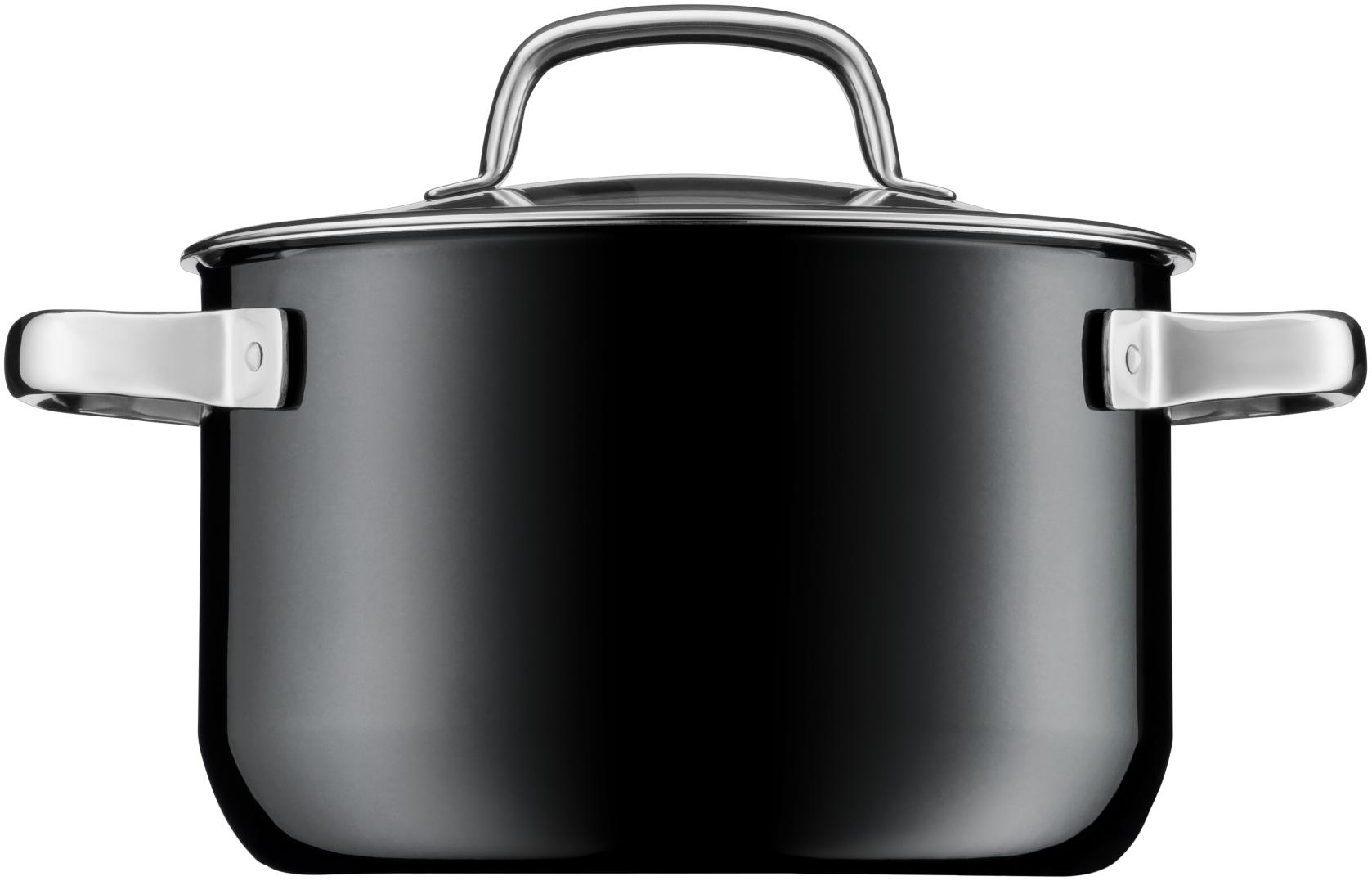 WMF Fusiontec Derin Tencere Siyah 20 cm