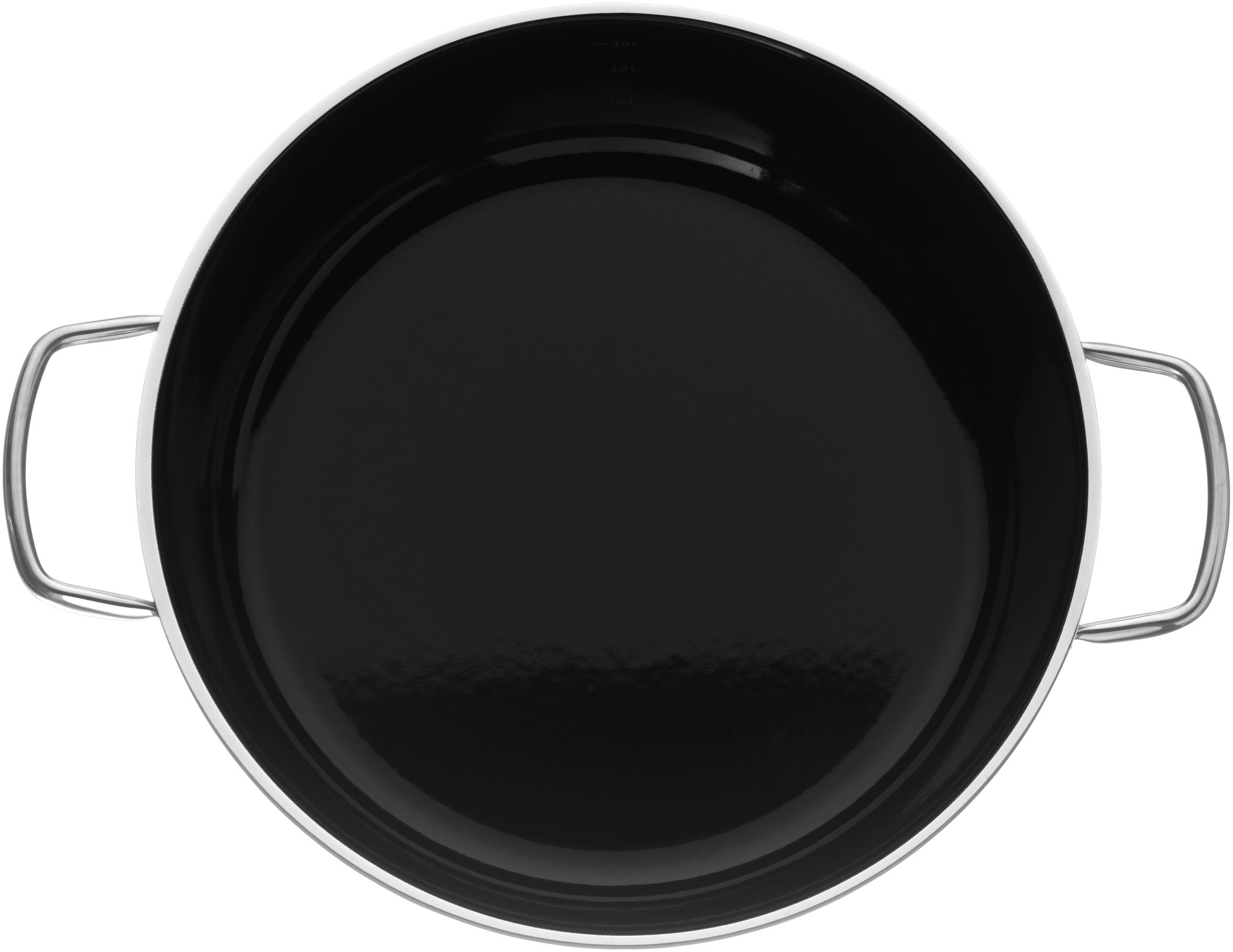 WMF Fusiontec Pilav Tenceresi 28 Cm Siyah