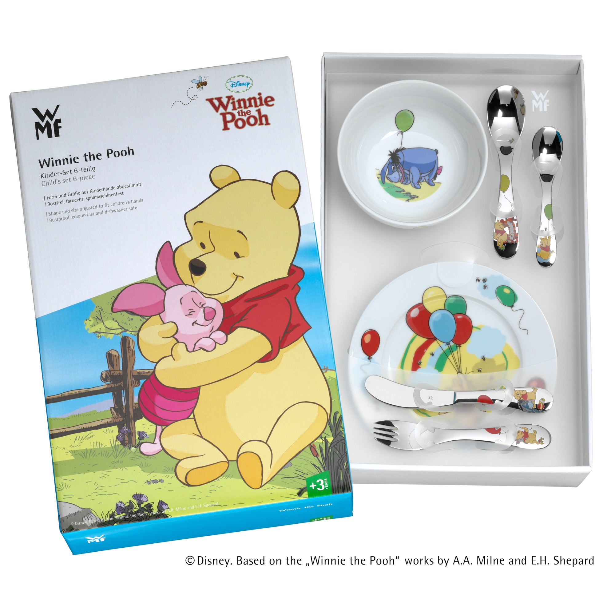 WMF Çocuk Yemek Seti Winnie The Pooh