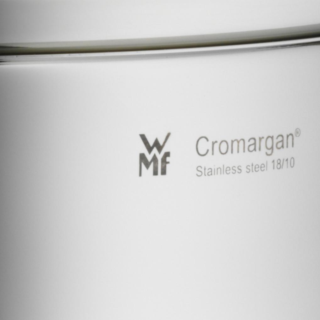Cromargan®: 18/10 paslanmaz çelik. Benzersiz ve bozulmaz.