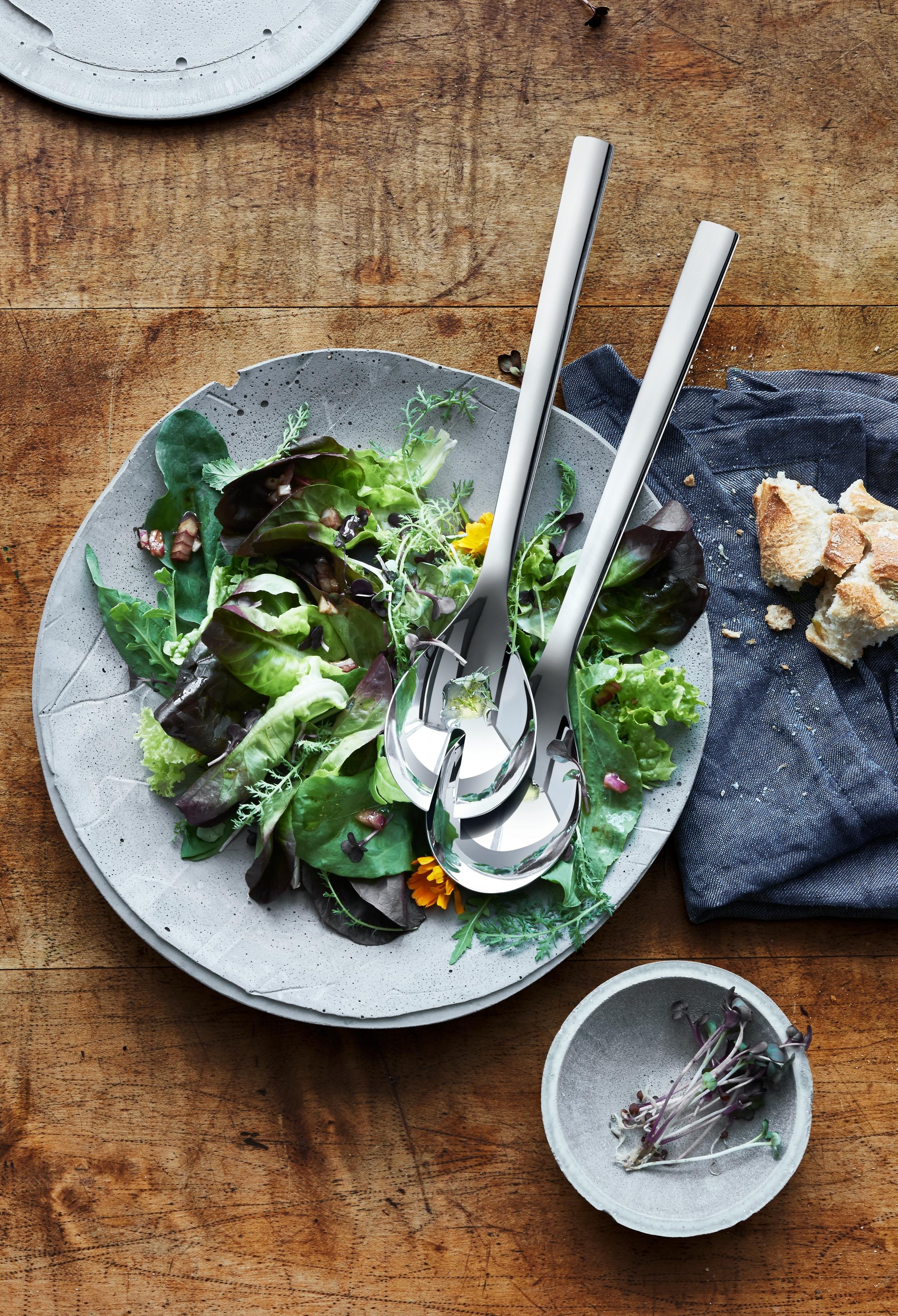 Nuova salata servis gereçleri: Her sofraya uygun