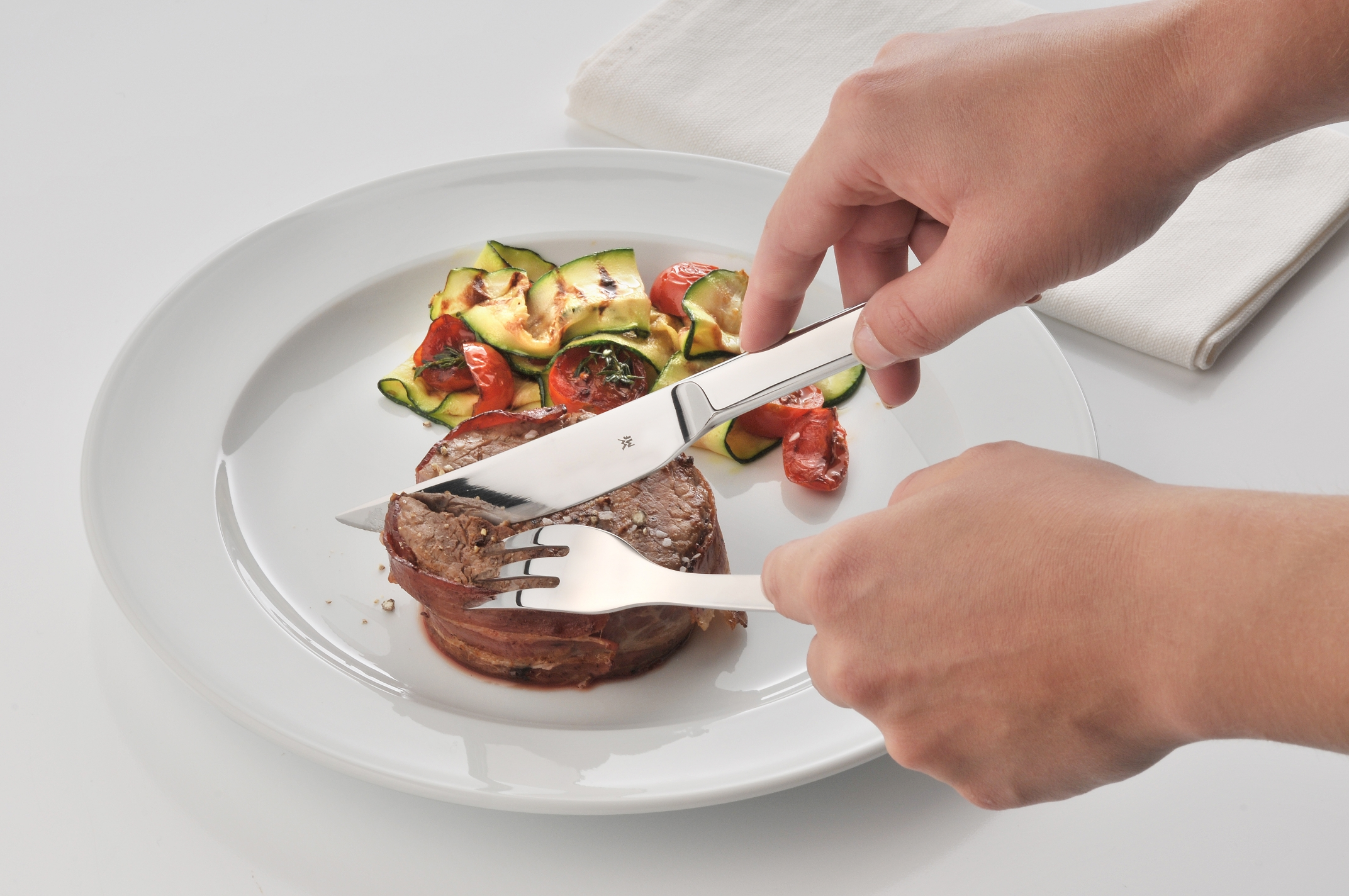 WMF Nuova Et/Pizza Çatal Bıçak Seti 12 Parça
