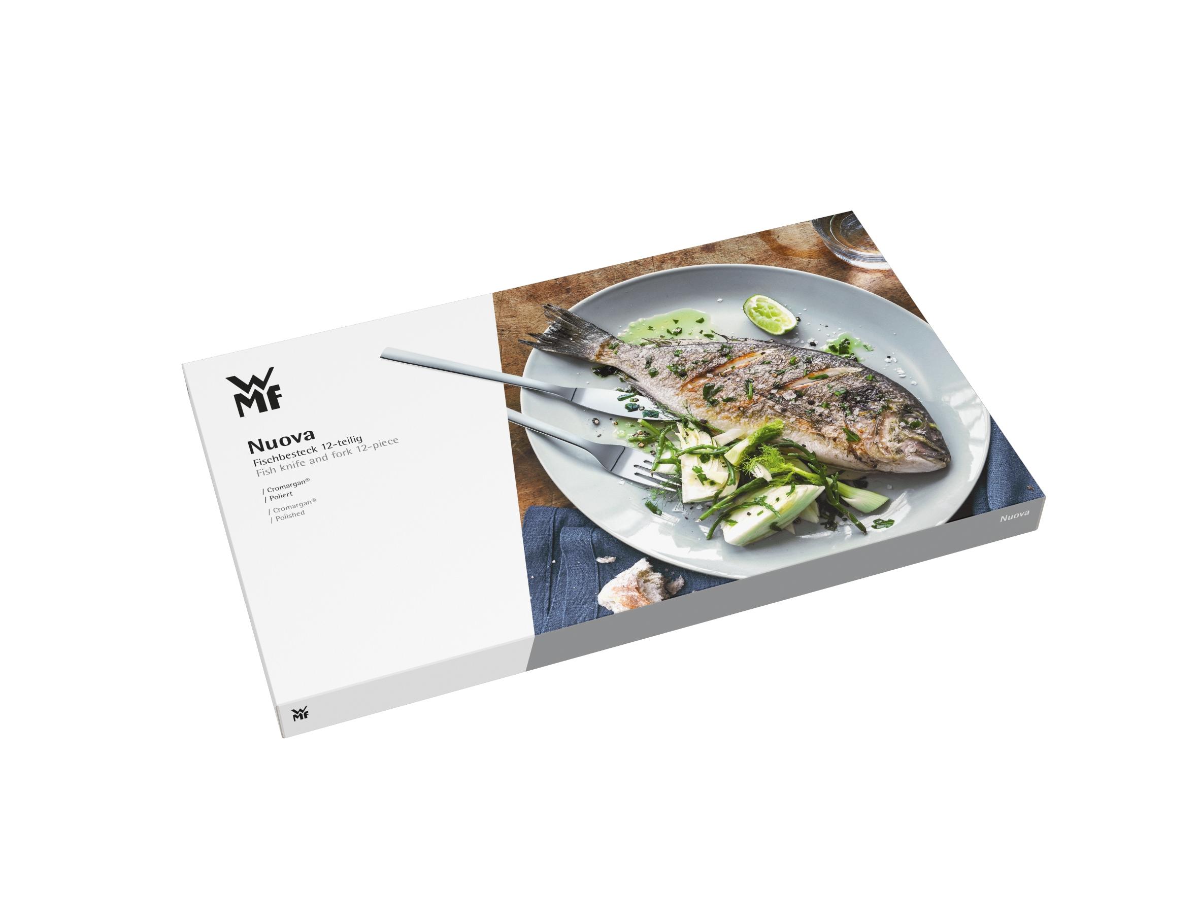 WMF Nuova Balık Çatal Bıçak Seti 12 Parça