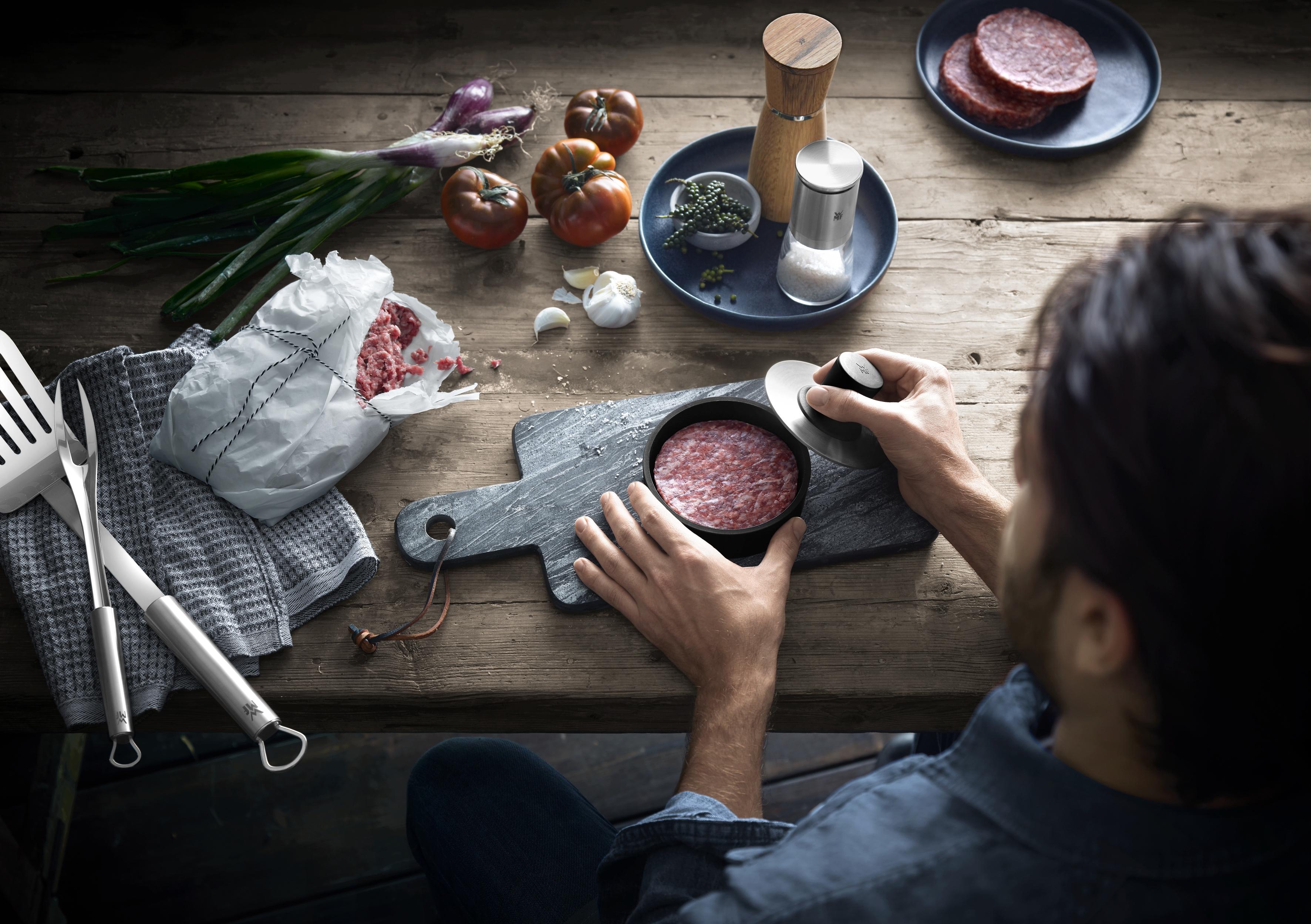 WMF Hamburger köftesi yapıcı: Mükemmel köfteler