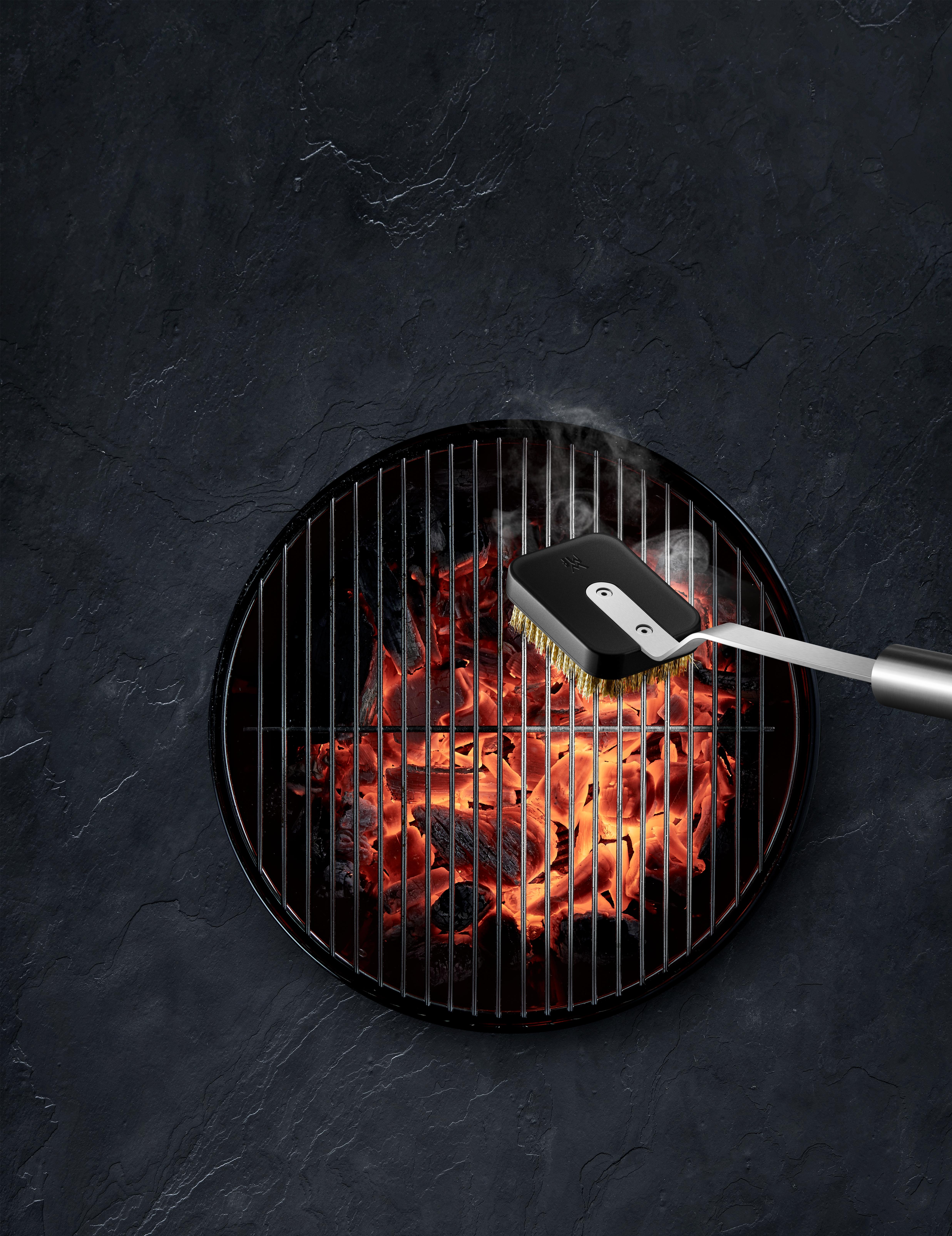 WMF büyük ızgara fırçası: Artık yapışan yiyecekler yok