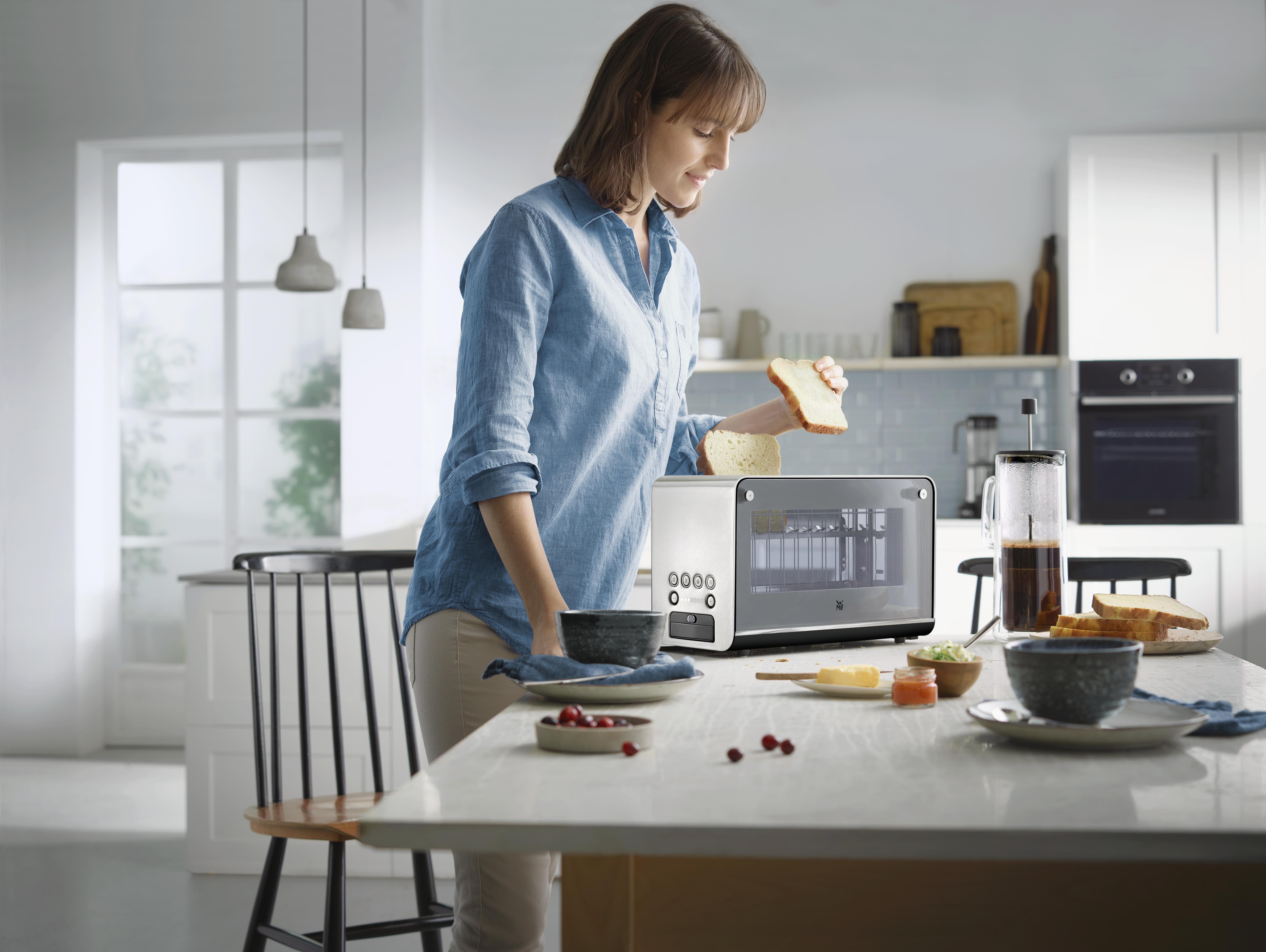 WMF Lono Cam Ekmek Kızartma Makinesi: Her şey gözlerinizin önünde