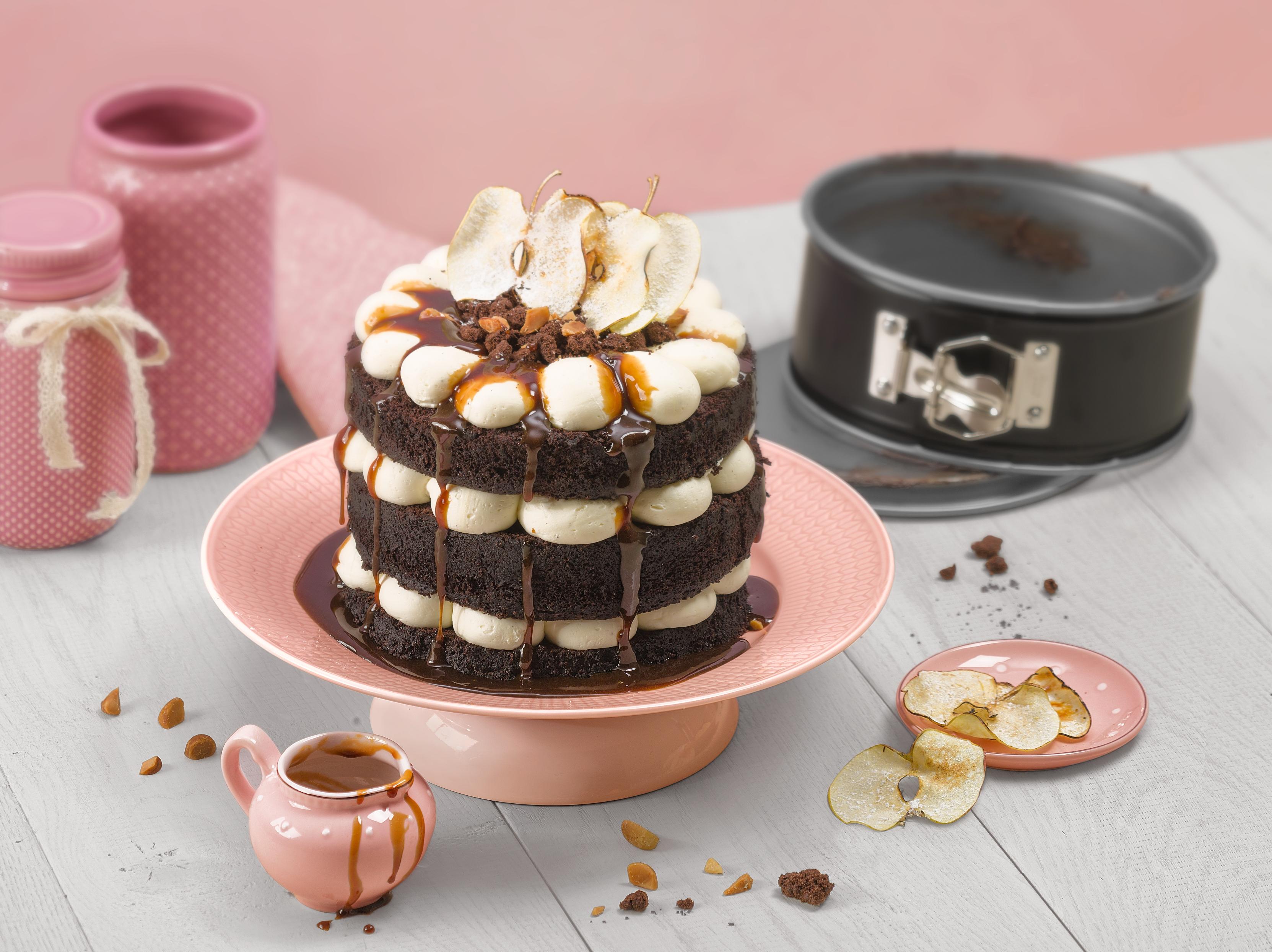 Kaiser Inspiration Kelepçeli Yuvarlak Mini 18cm Kek Kalıbı: İlham dolu kekler ve pastalar