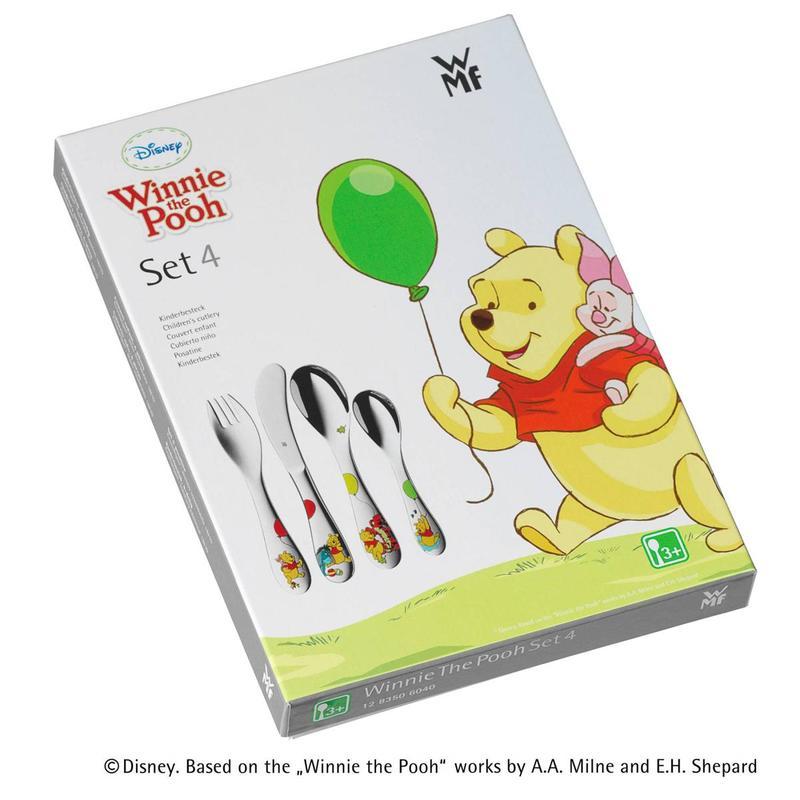 WMF Çocuk Çkb Seti 4'lü Winnie The Pooh