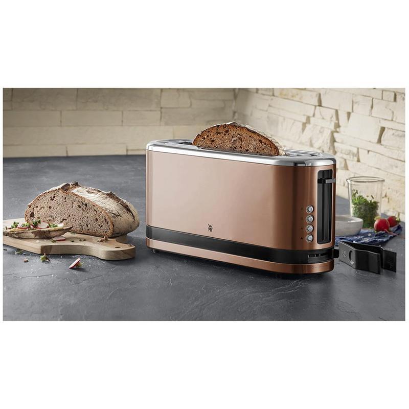 KITCHENminis® Uzun Hazne Ekmek Kızartma Makinesi - Bakır
